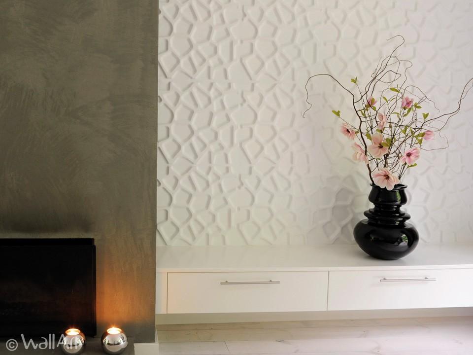 Wall Panels For Decor : D wall panels tiles decor modern