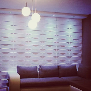 WallArt projects  - 3d deco designpanel wal lart vaults