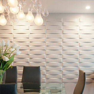 WallArt projects  - 3dboard wallcovering panel wallart vaults