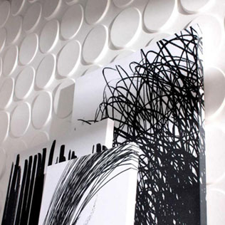 WallArt projects  - 3dwall paper wallart ellipses