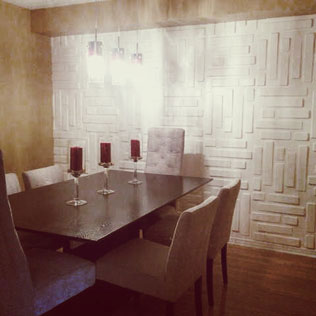 WallArt projects  - dimensional wall covering wallart