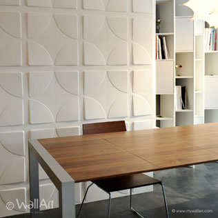 WallArt 3d walldecor Pitches design in living