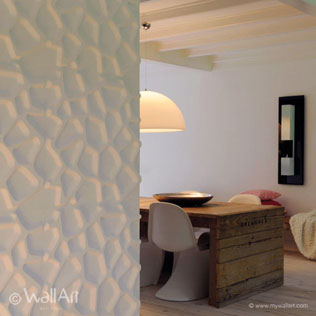 WallArt 3d walldecor walltiles Gaps design in villa
