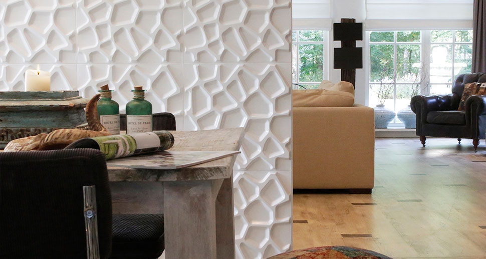 Gaps Design - 3D Wall Panels for your living room | For more 3d wall decorations & art visit us at mywallart.com