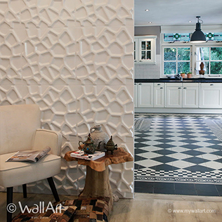Gaps Design - 3D Wall Decoration | For more 3d wall decorations & art visit us at mywallart.com