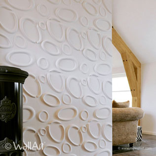 WallArt 3d Walldecor Splashes Design In Living