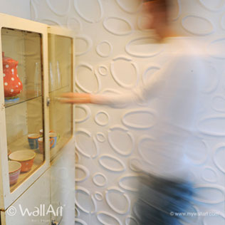 WallArt 3d walls Splashes design at home