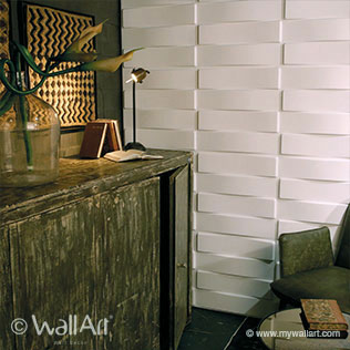 Vaults Design - 3D Wall Tiles | For more Wall Art and Wall Decoration Ideas, visit mywallart.com