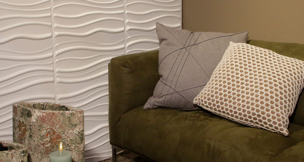 3D Wall Panels for in your living room | For more wall art ideas, visit mywallart.com