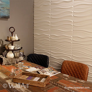 WallArt 3d walls  wallpanels Sands design at home