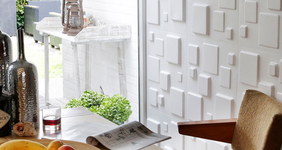 3D Wall Tiles - Squares Design | My Wall Art
