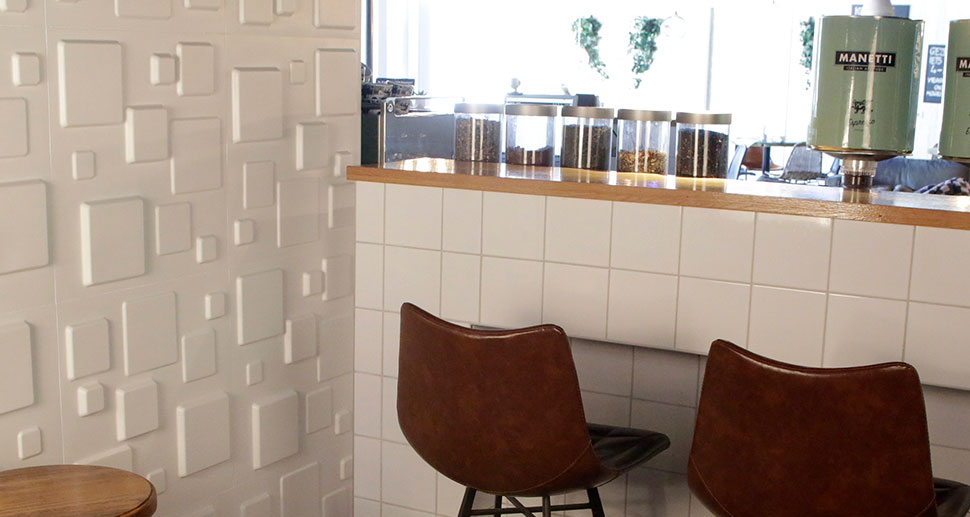 3D Tiles Design for your kitchen - Squares Design | My Wall Art