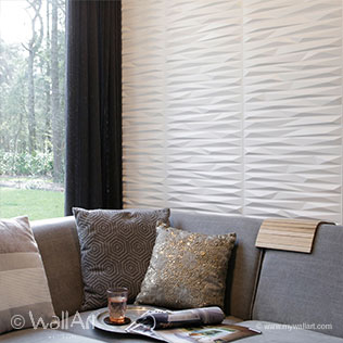 3d walls Cullinans design of Wallart