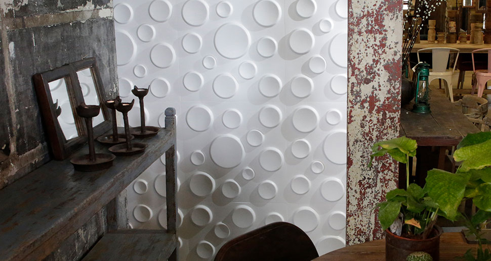 Craters Design - 3D Wall Art | For more living room wall decor ideas & wall art, visit mywallart.com