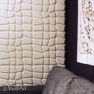 WallArt 3d wall panels Dundees design