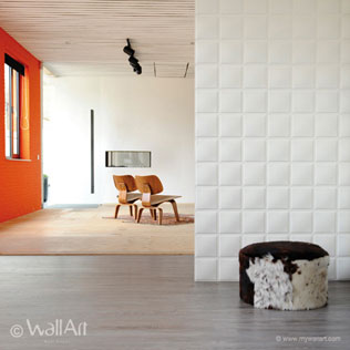 WallArt 3d wall panels Cubes design