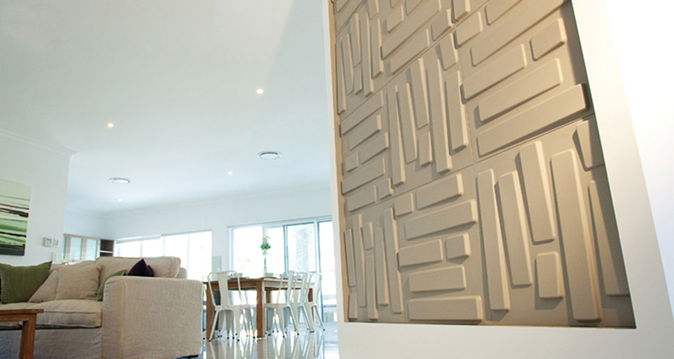 3D Wall Panels for your living room | For more wall decoration ideas and wall panels, visit us at mywallart.com