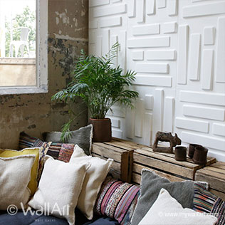 Bricks - 3D Wall Panels | For more wall decoration ideas and wall panels, visit us at mywallart.com