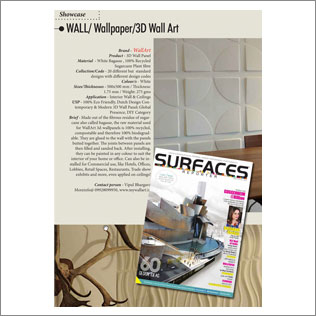 Surfaces Reporter india wallart