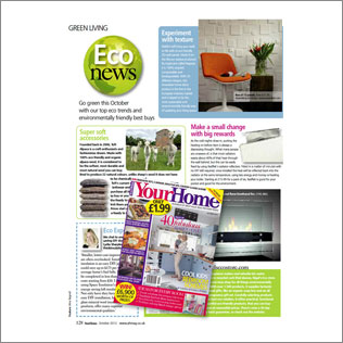 wallart in Your home magazine in UK