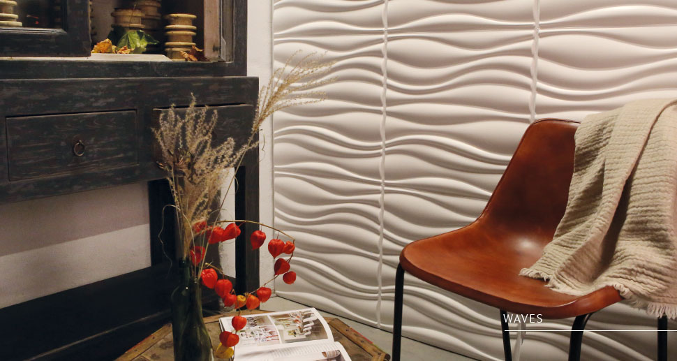 designs waves - WALLART Waves 3d wall panels