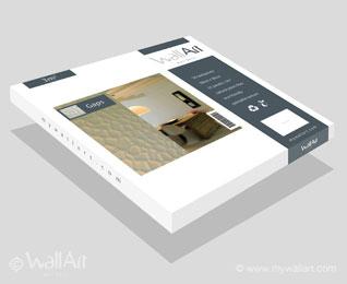 WallArt 3D - Eco-friendly Wallpanels packaging