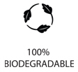 100% Bio degradeable