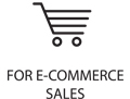 For e-commerce sales