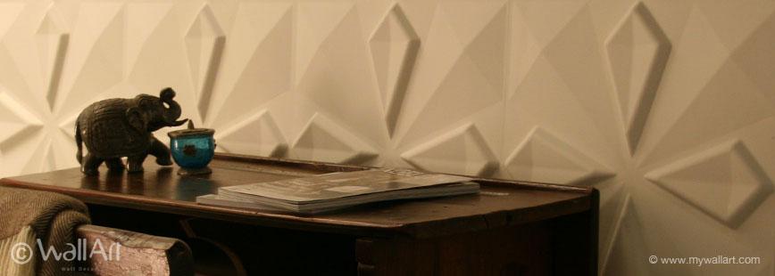 WallArt - Unique and eco friendly 3D wall panels