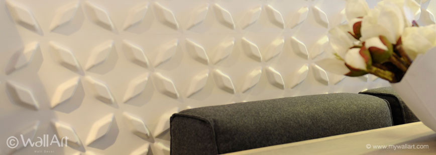 WallArt - Unique and eco friendly 3D wall panels